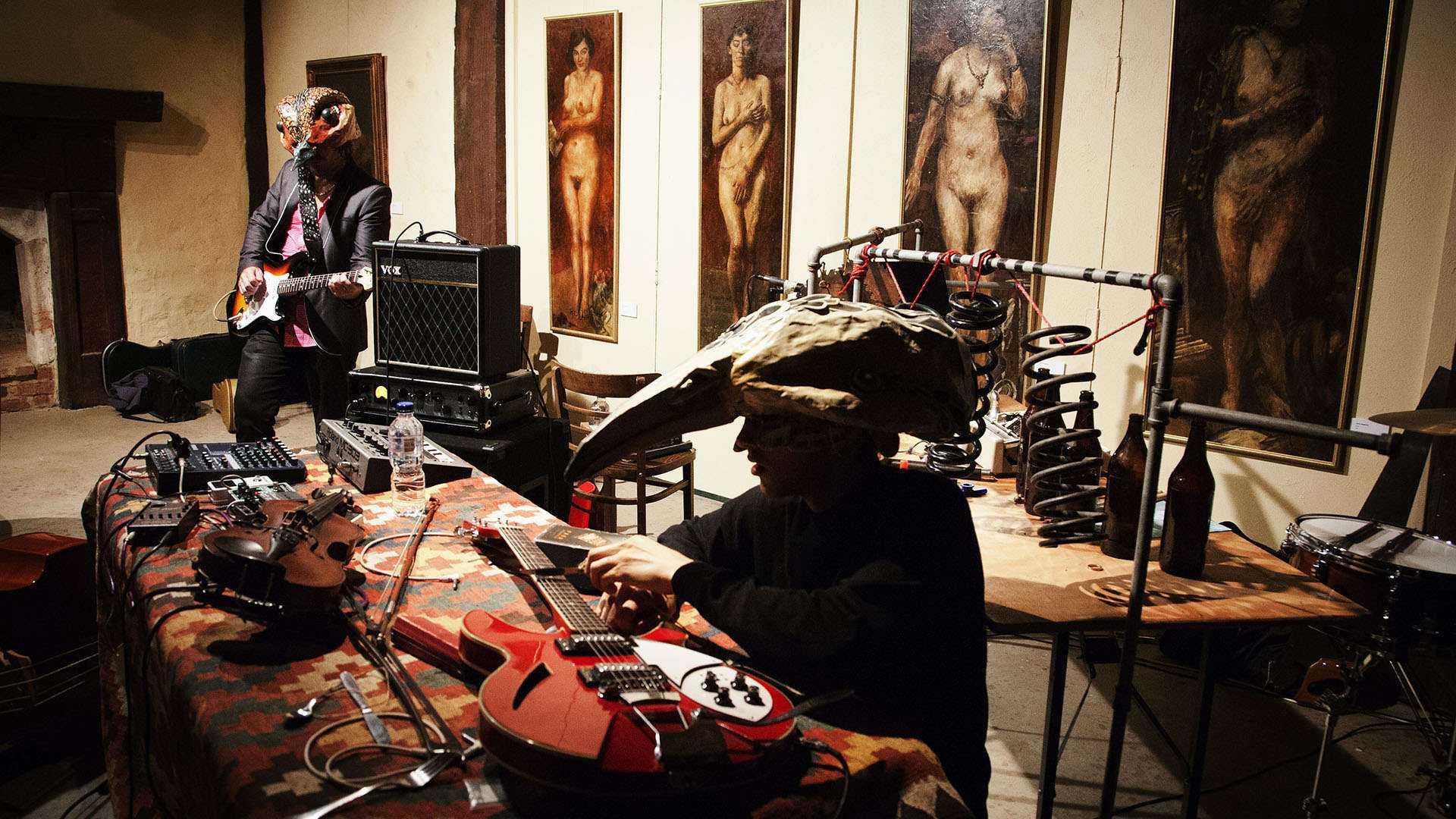 Sanctum Theatre's Cabinet of Antiquated Recording Devices (2012)