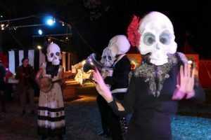 Colleen Burke presents 'The Skulls'