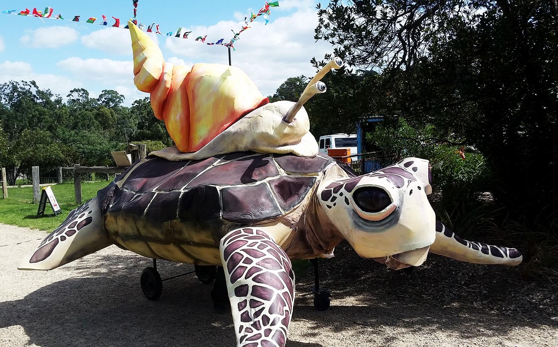 SANCTUM THEATRE Ghost Turtle